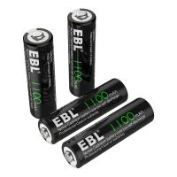 1100mAh AA Rechargeable Batteries, 1.2V NiCd Rechargeable Battery