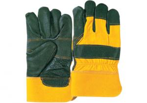 China Durable double palm wing thumb split Furniture Leather Gloves / Glove 31005-1 on sale