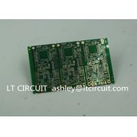 6 Layer Green Printed Circuit Board FR4 with V Groove White Silkscreen