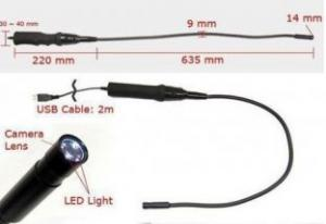 Quality USB Tube  Scope Endoscope Snake Inspection Camera E-05 for sale