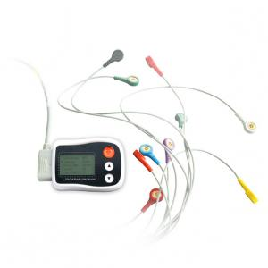 China White Ambulatory ECG Monitoring For Mini ECG Device Excellent Holter Precio on sale