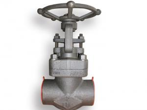 China ANSI B16.34  B16.5 Forged Steel Valve , Welded Gate Valve Gasket Spiral Wound on sale