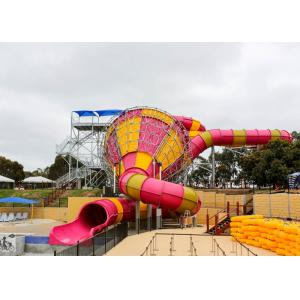 Medium Tornado Water Slide Commercial Extreme Water Slides For Gigantic Aquatic Park