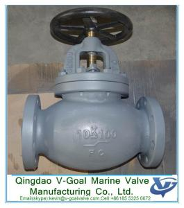 China Cast Iron F7307 JIS 10K Globe Valve with Flange Ends  Strict quality control JIS standard jis F7307 10k cast iron globe on sale