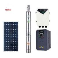 China High Flow Solar Water Pump For 4 Inch Deep Well With Stainless Steel Impeller on sale