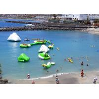 Sea Inflatable Floating Water Park , Commercial Ultimate Inflatable Slide Park