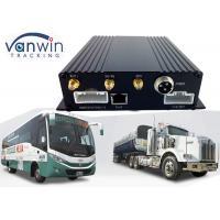 Vehicles 4 Channel Car DVR / Mobile DVR PTZ Local Remote Control