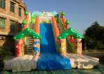 Good quality inflatable high dry slide inflatable animals forest colourful high dry slide