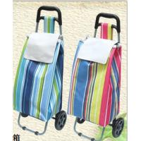 China Popular Trolley Shopping Bag Oxford fabric shopping bag Convenient Trolley shopping bag with wheels on sale