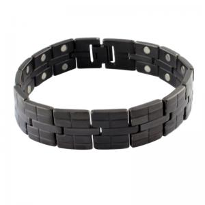 China bracelete magnético de aço nos estoques on sale