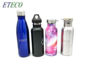 China BPA free Logo Customized Stainless Steel Vacuum Flask Water Bottle Sports Thermos on sale