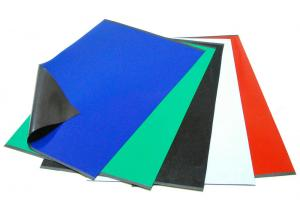China Self Adhesive Rubber Magnet Sheets  on sale