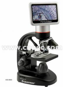 "China 4.3"" TFT Display A33.5503 Lcd Digital Microscope Dual Coarse / Fine Focuser on sale"