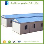 supply 70 square meter steel frame prefab movable camp house prefab indonesia