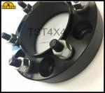 China 6 / 139.7mm PCD 6 Lugs 1 Inch 6061 Aluminum Alloy Hub Center Wheel Spacer Adapter wholesale