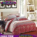 CKKB001-CKKB005 32Sの多彩な100%の綿によってブラシをかけられる柔らかい寝具は置きます
