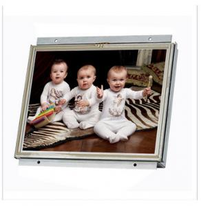 China High Resolution 15 Inch Open Frame LCD Monitor Digital Signage For Lobby / Bank on sale