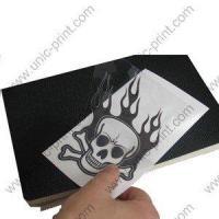 China Skull Helmet Sticker/Decal (UV Varnish) on sale
