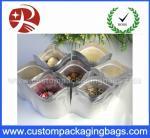 Los bolsos Ziplock plásticos de la lámina de mylar, 110 micrones de bolsa del almacenamiento con se levantan