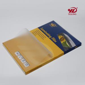 China a3 a4  transparent  Laminating Film Pouch  125 mic on sale