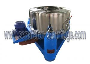 China Model PTD Three Footed Manual Top Discharge Food Centrifuge / Liquid-solid Separation Machines on sale