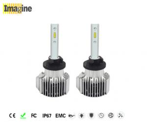 China IP67 Automotive LED Headlight Bulbs 880 Base 4000lm For HID Xenon Lamp on sale