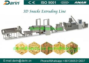 China 3D  Type Snack Extruder Machine Processing Line With CE Certification on sale