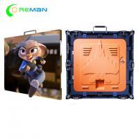 Internal LED Display Cabinet , High Resolution P10 LED Display Module 640X640mm