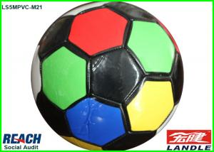 China PVC Synthetic Leather + EVA + Fabric Size 3 Soccer Ball For Kids Gift on sale