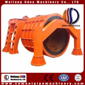China Concrete Pipe mould , Concrete Pipe forming Machine for Small Diameter XG 300-600 on sale