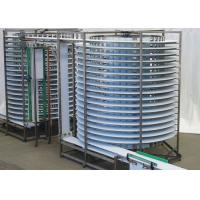 China Electric Worm Conveyer Spiral Conveyor Systems C Type Vertical Lifting on sale