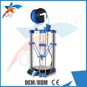 China Desktop PLA / ABS 3D Printer Diy Kit , Mini Pro Replicator Machine on sale