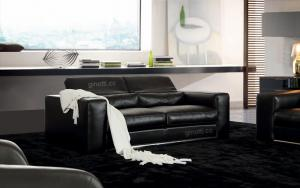 Quality 3 Seater Contemporary Luxury Leather Sofas,  Italian top brands leather sofas for sale