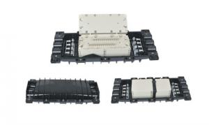 China Horizontal Type Fiber Optic Joint Enclosure For 24 Fiber 3 In 3 Out on sale