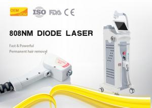 China High Frequency 10Hz 808nm Diode Laser Hair Removal Machine 10 - 150 J/CM2 Energy Density on sale