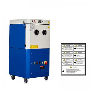China Industrial High Vacuum Extraction Laser Cutting Dust Collector With Pre Filter System 300m3/H on sale
