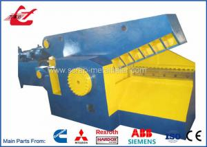 China Metal Hydraulic Alligator Shear 120 Ton Cutting Force With Safety Cover on sale