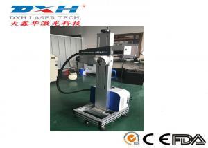 China Serial Number Laser Engraving Machine , Barcode Laser Engraving Machine With Transport Tape on sale
