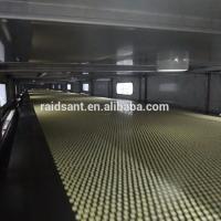17.5kw Hot Melt Granulation Pastillator Stainless Steel Nippon Steel Belt
