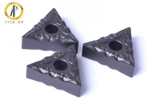 China Coated CNC Carbide Inserts TNMG160404 , Cemented Carbide Inserts HIP Sintering on sale
