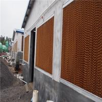 Factory wholesale industrial evaporative cooling pad  for greenhouse,swamp pad of Poultry house Equipment