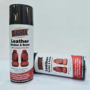 China 390g Waterproof Spray Paint Leather / Carpet / Vinyl / Hard Plastic Refinisher on sale