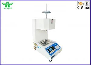 China 100~450℃ Melt Flow Index Tester MFR MVR Thermoplastics ISO 1133 ASTM D1238 supplier