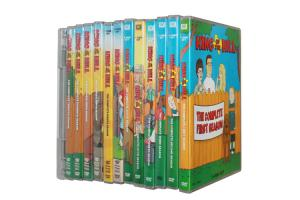 China King Of The Hill Seasons 1 - 13 DVD Movie The TV Show DVD Animated Comedy DVD Wholesale on sale