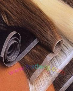 China PU Skin Weft Hair Extension (HXD-06) on sale