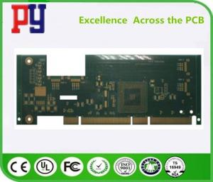 China High Precision Custom Printed Circuit Board Fr4 1OZ Multilayer Gold Finger on sale