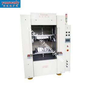 China Hydraulic Hot Plate Welding Machine For Glovebox Filters Balance Ring PP Machine Welding Plastic Welder on sale