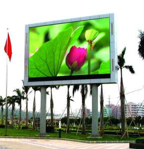 China Wall Mount 1R1G1B Outdoor SMD LED Display IP65 For Business Establishments on sale