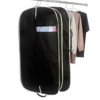 Customized Zippered Garment Bags Nonwoven Fabric Mens Suit Garment Bag