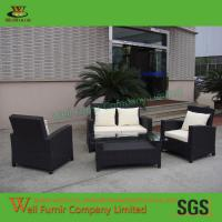 Supply High Quality Living Room Sofa, Rattan Sectional Sofa, Rattan Wicker Sofa